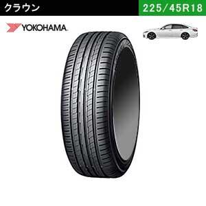 新型クラウンにおすすめのYOKOHAMA BluEarth-A 225/45R18 91Wのタイヤ