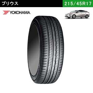 プリウスにおすすめのYOKOHAMA BluEarth-A 215/45R17 91W XLのサマータイヤ