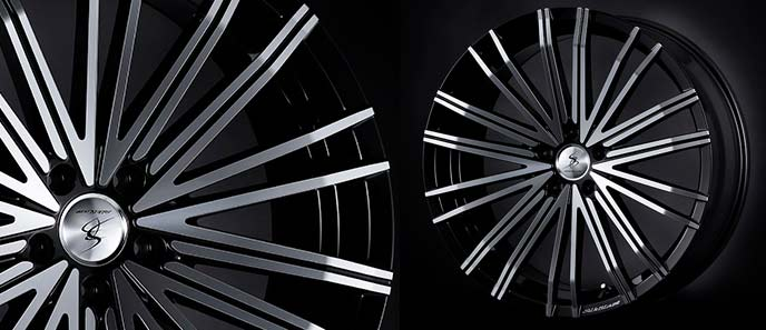 スカイラインにおすすめのケースペック シルクブレイズ ヴォルツァのホイール