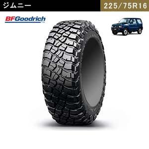 ジムニーにおすすめのBFGoodrich Mud-Terrain T/A KM3  LT225/75R16 115/112Q LRE RBLのタイヤ
