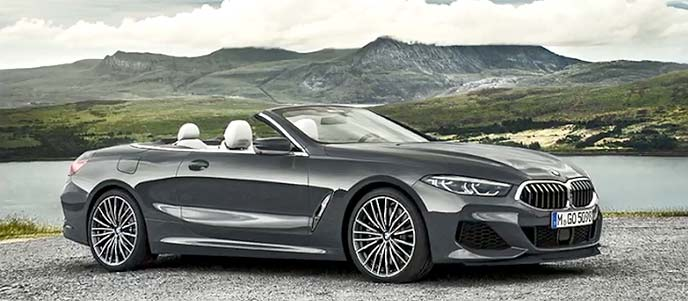 BMW「新型8シリーズ カブリオレ」最高級オープンモデルのエクステリア