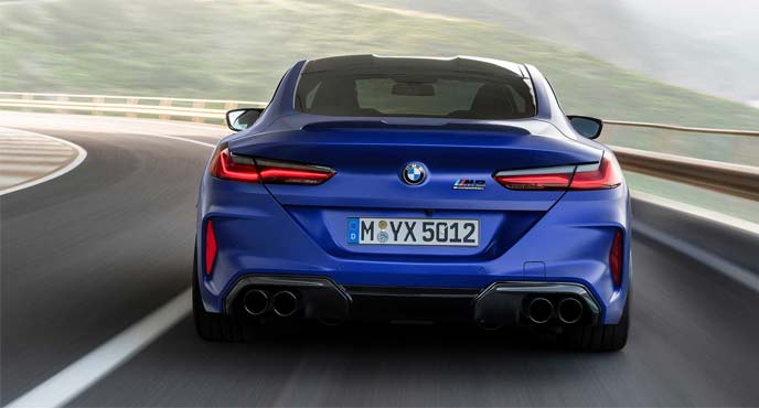 BMW新型「M8クーペ」