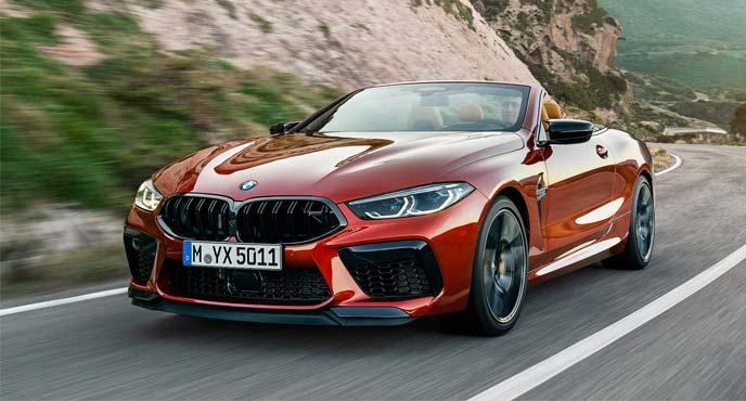 BMW新型「M8カブリオレ」
