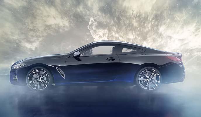 BMWワンオフモデル「M850i ナイトスカイ」のサイドのエクステリア