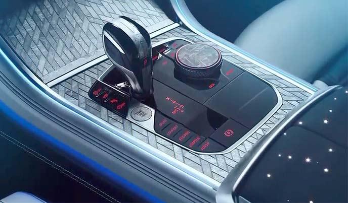 BMWワンオフモデル「M850i ナイトスカイ」のシフト
