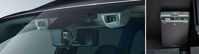 フォレスターの純正ドライブレコーダー
