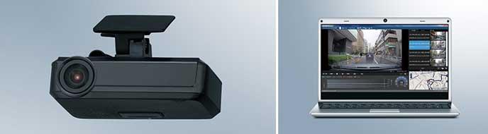 フォレスターのケンウッド製ドライブレコーダー