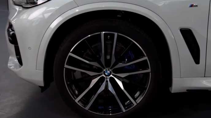 BMW X5のホイール