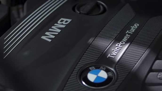 BMW X5のパワートレイン