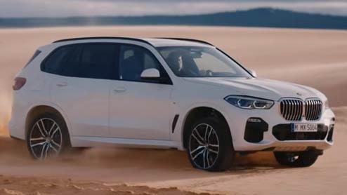 BMW X5がフルモデルチェンジで部分自動運転を導入