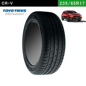 CR-VにおすすめのTOYO  PROXES T1 Sport SUV 235/65R17の夏タイヤ
