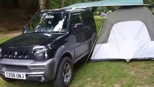 ジムニーをキャンプ仕様車にカスタマイズできるおすすめ商品
