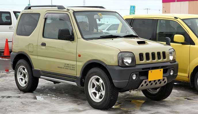 3型KANSAIのジムニー