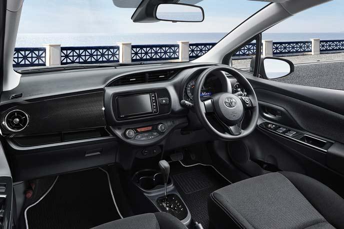 ヴィッツ特別仕様車セーフティエディション3のインテリア