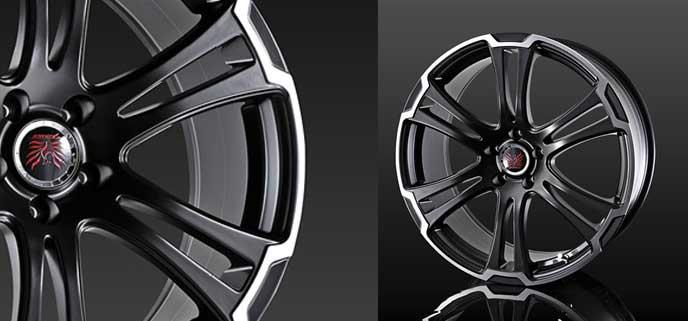 SX4におすすめのドゥオール ボイズ アルジェノン フェニーチェ TW1のホイール
