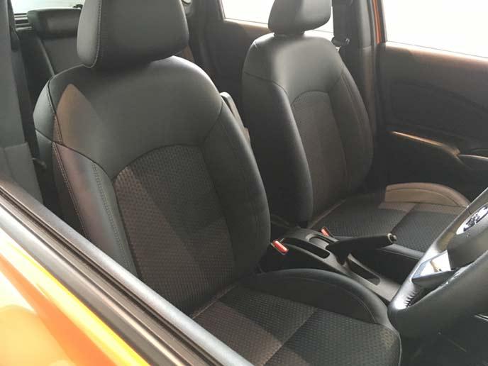 新型ノートe-POWERのフロントシート