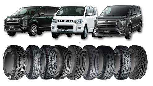 デリカD5のタイヤは16インチのA/T・18インチの低燃費タイヤどちらがいい?