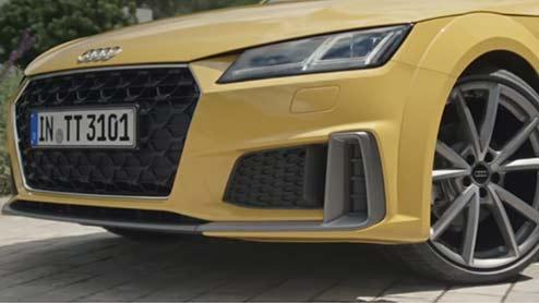 アウディTTクーペがマイナーチェンジ 新デザインのシングルフレームグリルで日本導入
