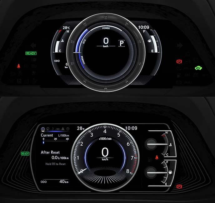 レクサス新型UXのコックピットディスプレイ