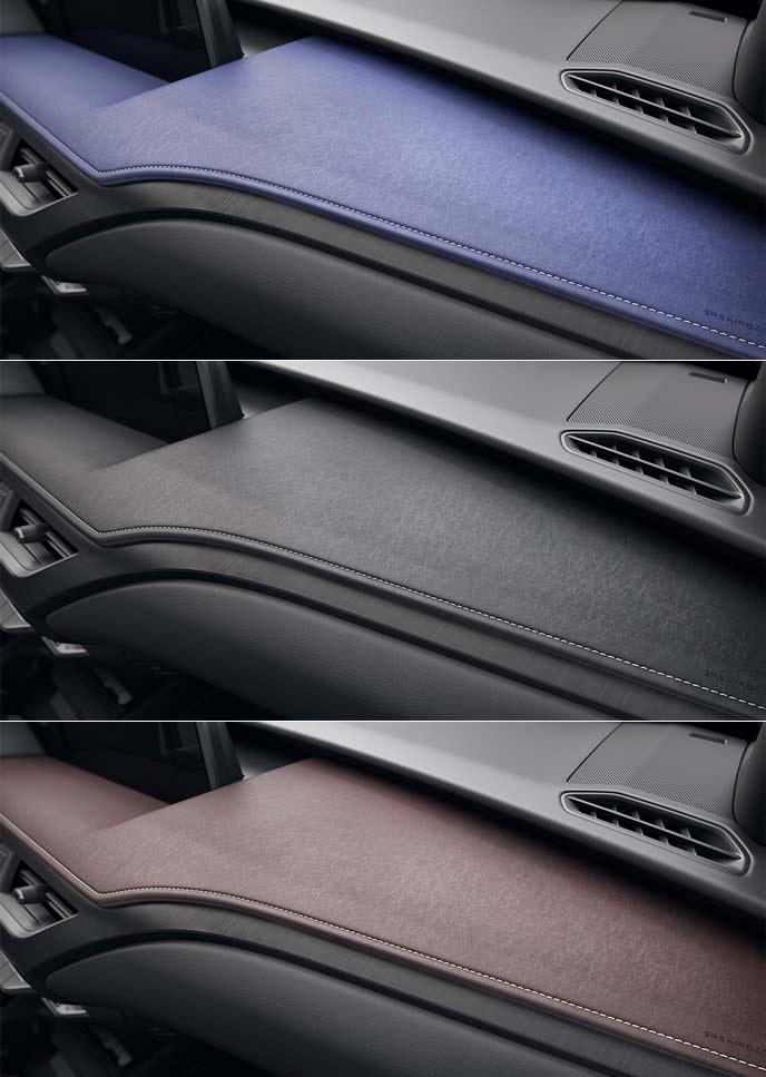 レクサス新型UXのインパネオーナメント
