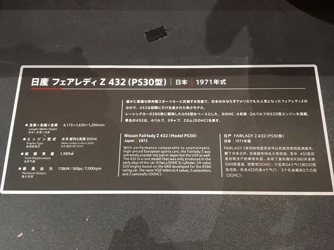 フェアレディZ PS30型の説明や緒元