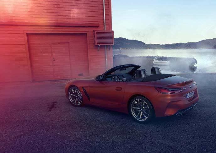 BMW新型Z4のリヤビュー