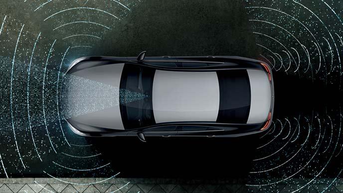 メルセデス・ベンツ新型CLSのインテリジェントドライブ