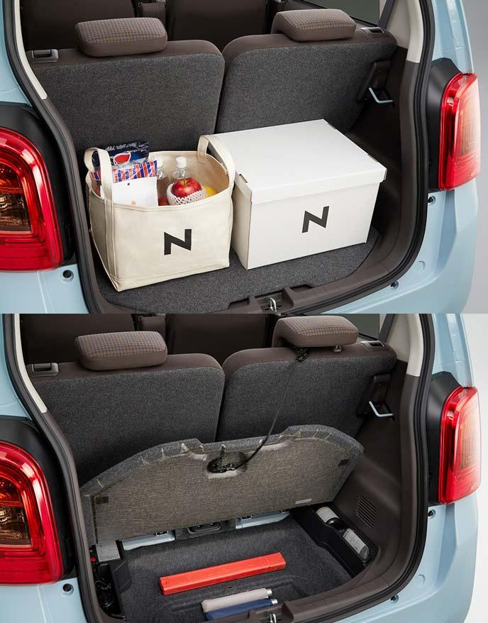 N-ONEの床下収納