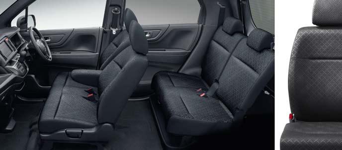 N-WGNカスタムのブラックデザインシート