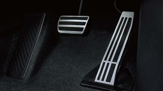 新型UXのアルミ製スポーツペダル