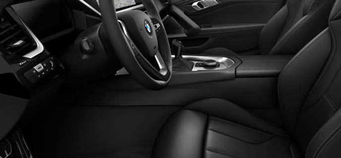 ヴァーネスカ・レザー・ブラックの新型Z4のシート