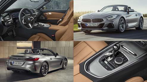 BMW Z4がフルモデルチェンジを行って復活~新型エンジンと電動ルーフを搭載