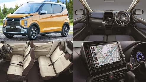 新型eKワゴン・eKクロスがフルモデルチェンジで自動運転支援MI-PILOT搭載やハイブリッドを設定