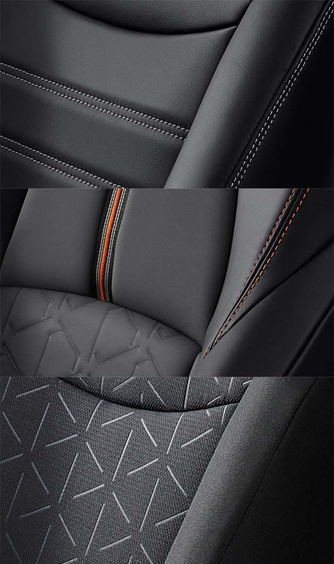 新型RAV4のシート表皮