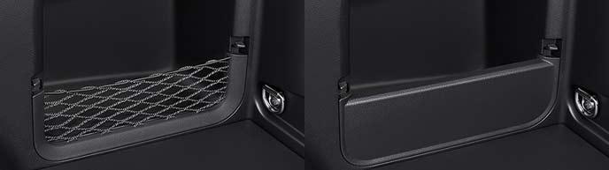 新型RAV4のデッキサイドポケット