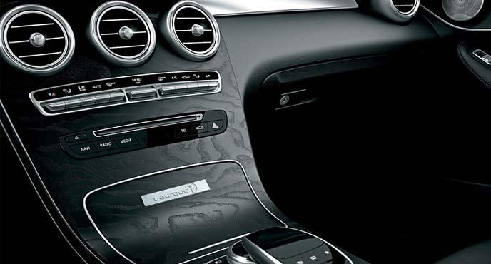 メルセデスベンツ限定車「GLS 220 d 4MATIC Laureus Sdition」ノインテリア