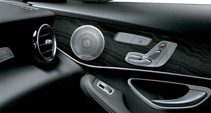 メルセデスベンツ限定車「GLS 220 d 4MATIC Laureus Sdition」サウンドシステム