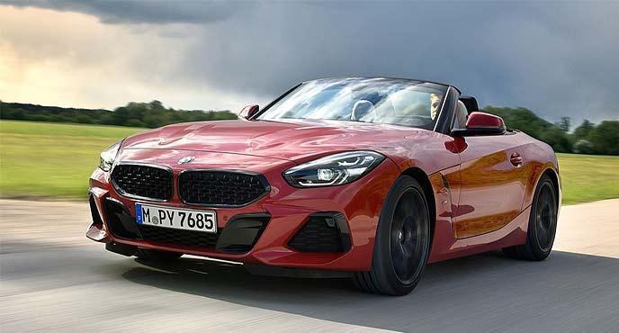 BMW新型「Z4」に6速MT設定