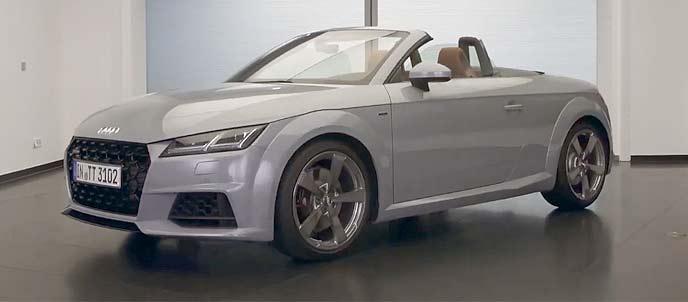 アウディ TTシリーズ誕生20周年記念モデルのエクステリア