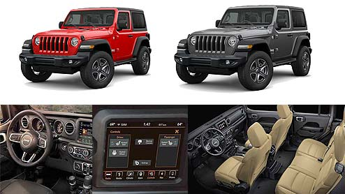 Jeep Wranglerの内装はオフローダーの冒険心に火をつける無骨で機能的な設計
