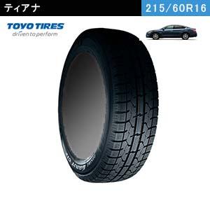 ティアナにおすすめのTOYO OBSERVE GARIT GIZ 215/60R16 95Qのスタッドレスタイヤ