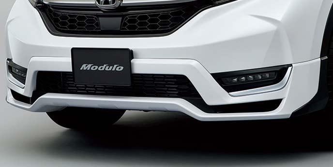 新型CR-Vのフロントエアロバンパー