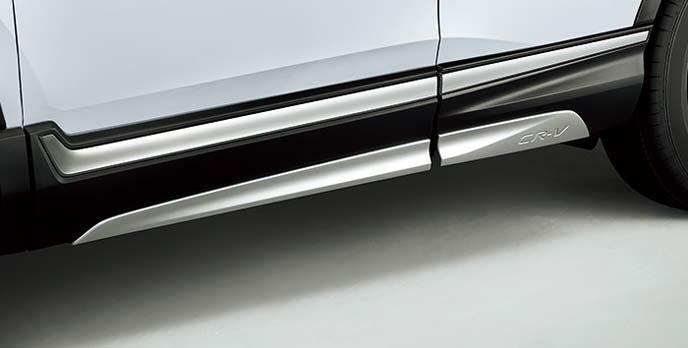 新型CR-Vのサイドロアガーニッシュ
