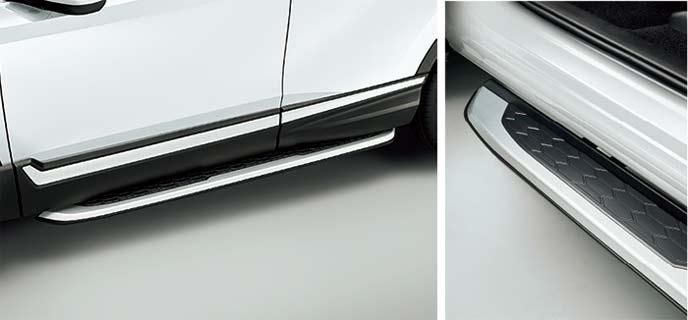 新型CR-Vのランニングボード