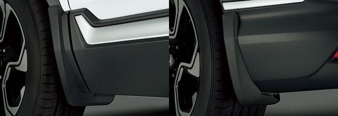 新型CR-Vのマッドガード