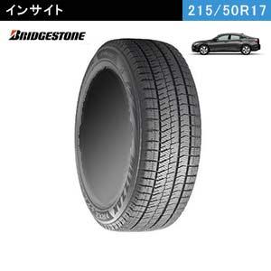 新型インサイトにおすすめのBRIDGESTONE BLIZZAK VRX2 215/50R17 91Qのスタッドレスタイヤ