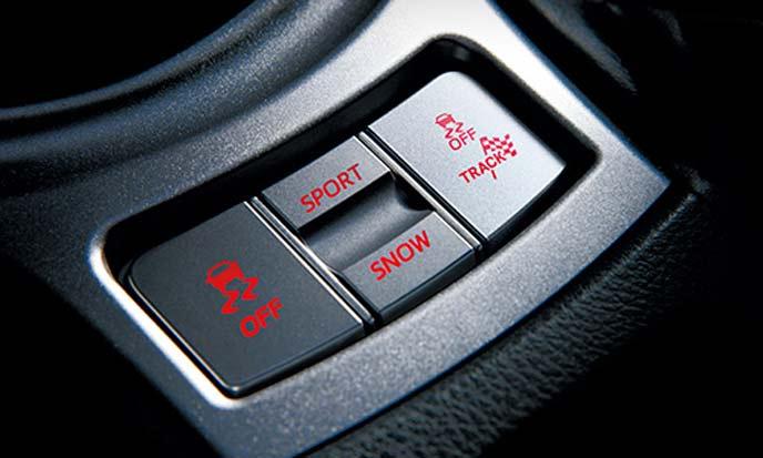 BRZの走行モードスイッチ