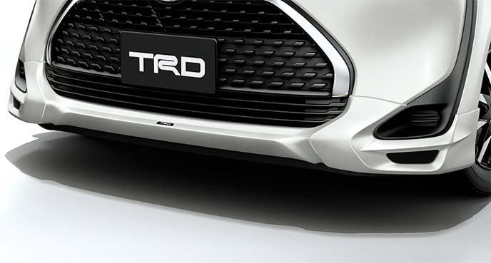 TRD新型シエンタのフロントスポイラー