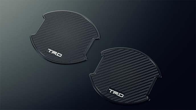 TRD新型シエンタのドアハンドルプロテクター