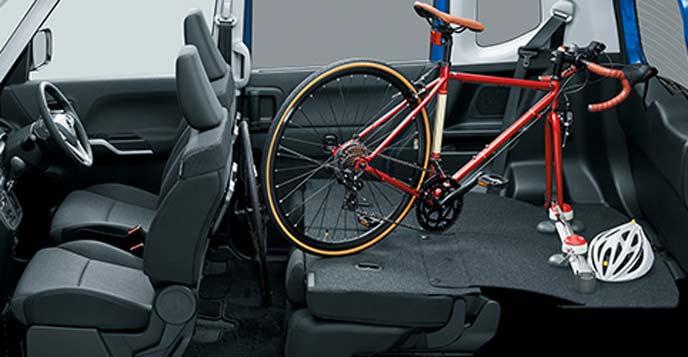 自転車を積む新型ソリオ